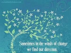 change winds